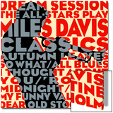 Dream Session, The All-Stars spiller Miles Davis-klassikere Plakater