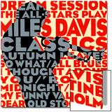 Sesión de sueño : Todas las estrellas tocando los clásicos de Miles Davis, en inglés Pósters