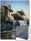 Fallingwater, State Route 381, Pennsylvania Plakater av Wright, Frank Lloyd