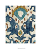 Ocean Ikat II Limited Edition by Chariklia Zarris