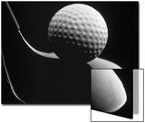 Golf Club and Golf Ball Posters by John T. Wong