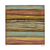 Seaside Stripes I Limited Edition by Susan Hayes