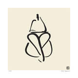 Abstract Female Nude III Limitierte Auflage von Ty Wilson