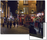 The Temple Bar Pub, Temple Bar, Dublin, County Dublin, Republic of Ireland (Eire) Posters by Sergio Pitamitz
