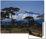 Kenya, Mount Kilimanjaro Prints by Michele Burgess