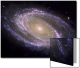 The Spiral Galaxy Known as Messier 81 Poster by  Stocktrek Images