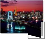 Evening View of Rainbow Bridge Poster