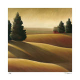 Golden Fields I Giclee Print by Deac Mong