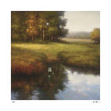 Wooded Glade Giclee Print by Li Yong Nam