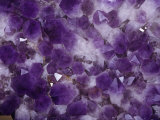 Amethyst Crystals Photographic Print by Ken Lucas