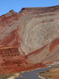Monocline and San Juan River, Near Mexican Hat, Southern Utah, USA Photographic Print by Marli Miller