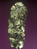 Pyrite Crystals, Peru, South America Photographic Print by Mark Schneider