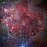 M42, the Great Nebula in Orion Photographic Print by Matthew Russell