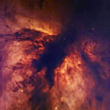 The Flame Nebula in Orion, Ngc2024 Photographic Print by Robert Gendler