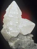 Witherite Crystals, Hexham, Northumberland, England, Uk Photographic Print by Mark Schneider
