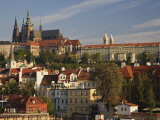 Prague Castle and Lesser Town Area, Prague, Czech Republic Photographic Print by Adam Jones