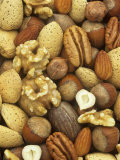 Nuts, Pecan, Walnut, Hazel and Almond Photographic Print by Wally Eberhart