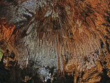Stalactites in the Big Room, Carlsbad Caverns National Park and World Heritage Site, New Mexico Photographic Print by Adam Jones