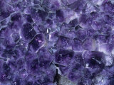 Amethyst Crystals, a Variety of Quartz, Brazil, South America Photographic Print by Ken Lucas