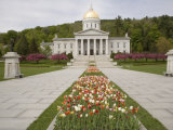 Vermont State Capitol Building, Montpelier, Vermont Photographic Print