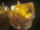 Yellow Fluorite Crystals, Illinois, USA Photographic Print by Ross Frid