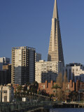 Transamerica Pyramid and Financial District from Pier 9, San Francisco, California Photographic Print by Adam Jones