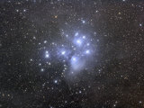 M45, the Seven Sisters or Pleiades Photographic Print by Matthew Russell