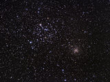 M35 and Ngc 2158 Open Clusters in Gemini Photographic Print by Robert Gendler