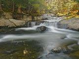 Bog Road Falls, Lamoille River, Vermont Fotodruck von Gustav W. Verderber