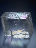 Iceland Spar Calcite Crystal, Iceland Photographic Print by Mark Schneider