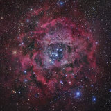 The Rosette Nebula in Monoceros Photographic Print by Robert Gendler