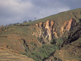 Severe Erosion Following Tropical Forest Removal, Madagascar, Africa Photographic Print by Walt Anderson