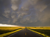 Mammatus Cloud Formation over the Northwest Nebraska Plains Photographic Print by Charles Doswell