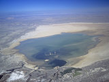 Rosamond Lake Near Edwards Airforce Base, California, USA Photographic Print by Jim Wark