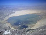 Rosamond Lake Near Edwards Airforce Base, California, USA Photographic Print by Jim Wark