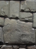 Famous 12-Sided Stone in Inca Stonework Wall in Cusco, Peru Photographic Print by David Matherly