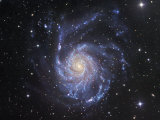 M101 Spiral Galaxy in Ursa Major Photographic Print by Robert Gendler
