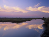 Sunrise, Merritt Island National Wildlife Refuge, Florida, USA Photographic Print by Adam Jones