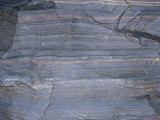 Slate (Metamorphic Rock) and Iron Ore Shale (Sedimentary Rock), Marquette, Michigan, USA Photographic Print by Ken Lucas