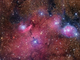 Ngc 6559 Nebula in Sagittarius Photographic Print by Robert Gendler