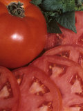 Entire and Sliced Tomato, Celebrity Variety Photographic Print by Wally Eberhart
