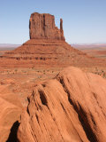 Erosional Remnant, Mitten Rock, Monument Valley, Arizona, USA Photographic Print by Marli Miller