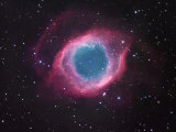 The Helix Nebula, Ngc7293, the Nearest Planetary Nebula to Our Sun Photographic Print by Robert Gendler