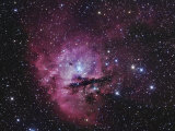 Ngc 281, Emission Nebula and Open Cluster in Cassiopeia Photographic Print by Robert Gendler