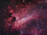 M17, the Omega Nebula in Sagittarius Photographic Print by Robert Gendler