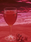 Cranberry Juice Photographic Print by Wally Eberhart
