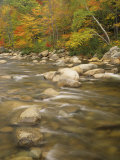 Autumn Colors Along the Swift River, White Mountains National Forest, New Hampshire, USA Photographic Print by Adam Jones
