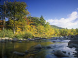 Swift River in the Autumn, White Mountains National Forest, New Hampshire, USA Photographic Print by Adam Jones