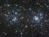 Double Star Clusters Ngc 884 and Ngc869 Photographic Print by Robert Gendler