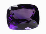 Amethyst Gem Photographic Print